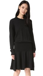 Designers Remix Carson Short Dress Black