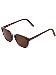 Cutler And Gross Clubmaster Sunglasses Brown