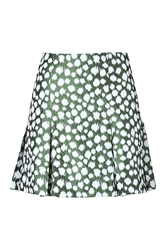 Ostwald Helgason Skirt In Green Deer