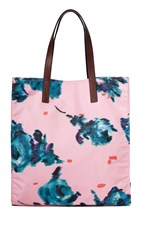 Marc Jacobs B.Y.O.T. Brocade Floral Tote Pink