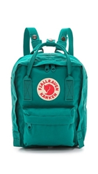 Fjall Raven Kanken Mini Backpack Ocean Green