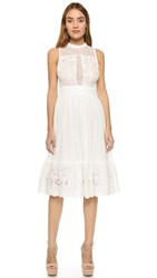 Endless Rose Swiss Lace Dress Off White