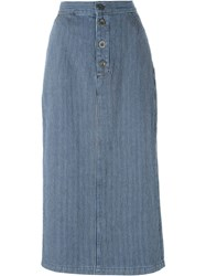 Mih Jeans 'Malo' Skirt Blue