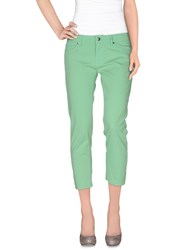 Roy Rogers Roy Roger's Trousers 3 4 Length Trousers Women Light Green