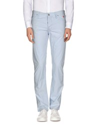 Jaggy Trousers Casual Trousers Men Sky Blue