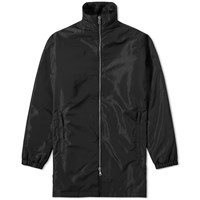 Tres Bien Padded Zip Coat Black