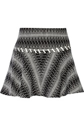 Thakoon Cotton Blend Boucle Tweed Skirt