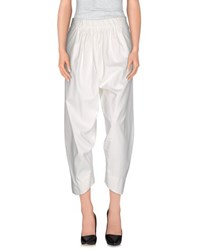 Malloni Trousers Casual Trousers Women Ivory