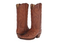 Lucchese L4181 Barnwood Cowboy Boots Brown