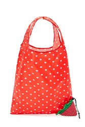 Forever 21 Strawberry Foldable Tote