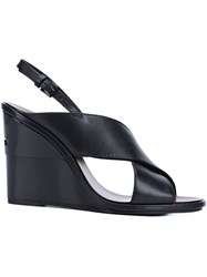 Tory Burch 'Gabrielle' Wedge Sandals Black