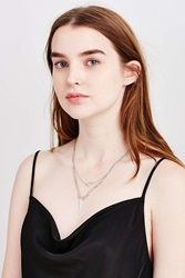 Urban Outfitters Every Angle Layering Necklace Silver