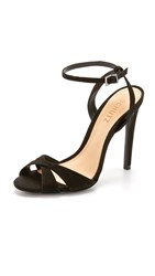 Schutz Dollie Sandals Black