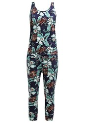 Franklin And Marshall Jumpsuit Blue Dark Blue