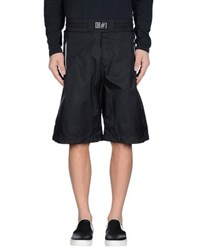 Bikkembergs Trousers Bermuda Shorts Men Black
