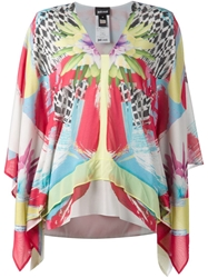 Just Cavalli Printed Layered Tunic Top Multicolour