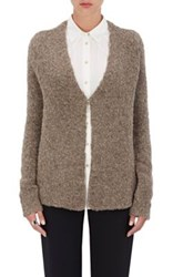 Atm Anthony Thomas Melillo Women's V Neck Cardigan Brown