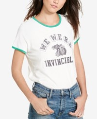 Denim And Supply Ralph Lauren Invincible Graphic T Shirt