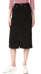Eve Denim Tallulah Skirt Black