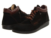 Finn Comfort Linz 1008 Black Brown Men's Lace Up Casual Shoes