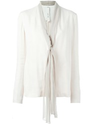 Damir Doma 'Jare' Jacket Nude And Neutrals