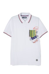 Desigual Victor Polo Shirt White