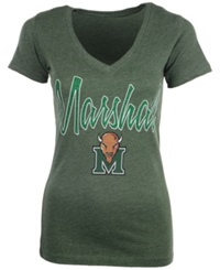 Royce Apparel Inc Women's Marshall Thundering Herd Hugo T Shirt Green