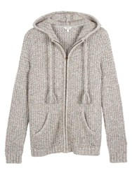 Fat Face Alice Textured Hoody Misty Surf