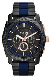 Men's Fossil 'Machine' Chronograph Bracelet Watch 45Mm