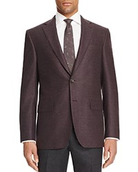 Jack Victor Loro Piana Double Face Sweetfelt Classic Fit Sport Coat 100 Bloomingdale's Exclusive Burgundy
