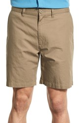Men's Patagonia Flat Front Woven Organic Cotton And Hemp Shorts