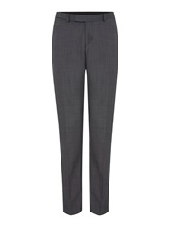 Howick Darby Birdseye Slim Fit Trouser Grey