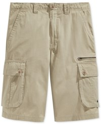 Lrg Men's Cargo Shorts Putty