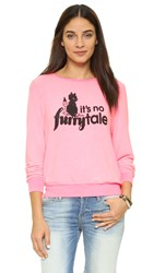 Wildfox Couture Its No Furrytale Baggy Sweatshirt Party Girl