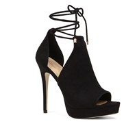 Aldo Tilley Lace Up Stilettos Black