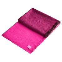 Joules Berkley Colour Block Scarf Fuchsia Chrysanthemum