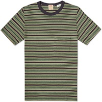 Levi's Vintage Clothing 1960S Striped Tee Blue And Green