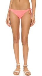 Shoshanna Watermelon String Bikini Bottoms