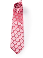 Gianfranco Ferre Vintage Polka Dot Tie Pink And Purple
