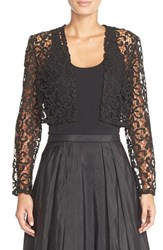 Women's Alex Evenings Metallic Lace Bolero Jacket