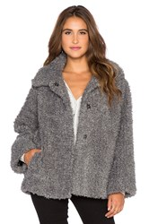 Essentiel Fake It Happen Coat Gray