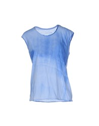 Zadig And Voltaire Topwear T Shirts Women Azure