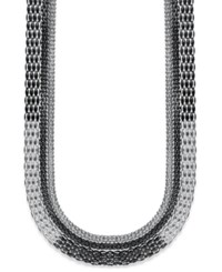 Inc International Concepts Necklace Multi Chain Necklace Silver