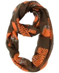 Little Earth Cleveland Browns Sheer Infinity Scarf