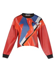 Leitmotiv Topwear Sweatshirts Women Red