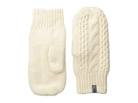 The North Face Cable Knit Mitt Vintage White Extreme Cold Weather Gloves Beige