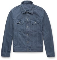 A.P.C. Overdyed Denim Jacket Blue