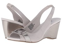 Anne Klein Willful Ash Fabric Women's Shoes Gray