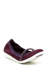 Cole Haan Gilmore Mary Jane Ballet Flat Purple