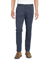 Strellson Cotton Chino Pants Navy